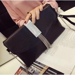 Túi clutch đeo chéo nữ trang hàn quốc