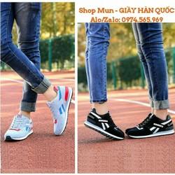 Giày thể thao đôi Nam - Nữ phong cách Hàn Quốc
