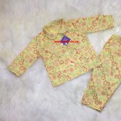 Bộ pijama cho bé gái từ 3 tháng đến 5 tuổi