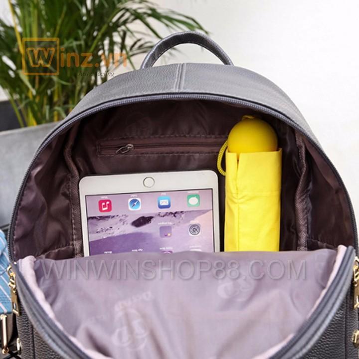 Balo da thời trang cao cấp BL219 Xám cung cấp bởi Winwinshop88 5