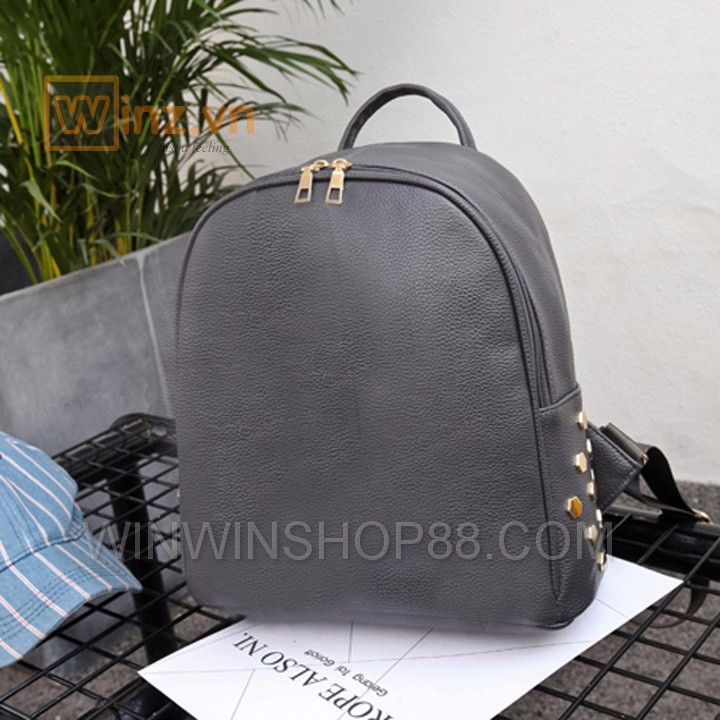 Balo da thời trang cao cấp BL219 Xám cung cấp bởi Winwinshop88 6