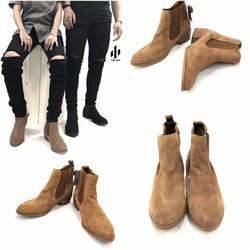Chelsea Boots Da Lộn