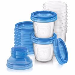 Cốc trữ sữa VIA Avent SCF618-10 180ml, 10 ly