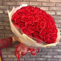 Hoa hồng sáp 99 bông