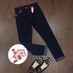 Quần jeans dài trơn _MỎ CHU SHOP