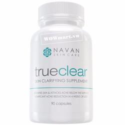 Viên uống giải độc gan,trị mụn Navan Skin Care Trueclear 90 viên