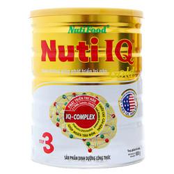 Sữa Nuti IQ Step 3 Gold 900g