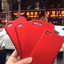 Ốp lưng iPhone 5-5s-Se dẻo mẫu Red