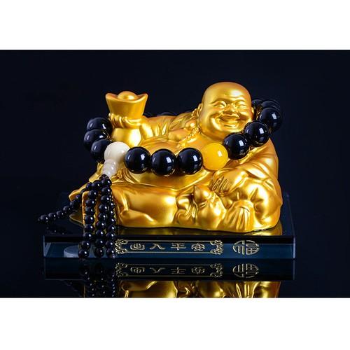 Phật di lạc may mắn trang trí ô tô