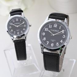 Đồng hồ đôi dây da TheBez thời trang SP862