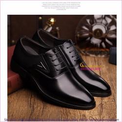 Giày tây nam cao cấp giày da GLG048