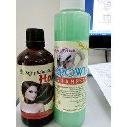 2 chai dầu gội bưởi tặng 1 tinh dầu bưởi Lotion hair