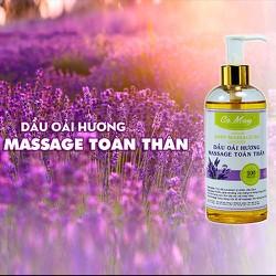 Dầu Massage Body Lavender 300ml