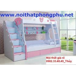 Giường ngủ em bé tiết kiệm không gian giá rẻ