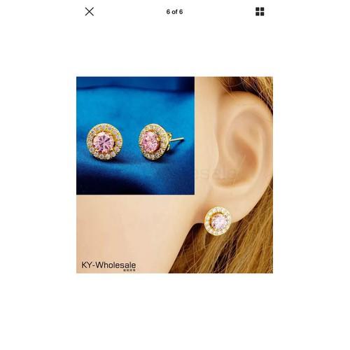Bông Tai đính đá pha  lê hồng nhạt sang trọng hàng nhập khẩu - 4226063 , 5393900 , 15_5393900 , 120000 , Bong-Tai-dinh-da-pha-le-hong-nhat-sang-trong-hang-nhap-khau-15_5393900 , sendo.vn , Bông Tai đính đá pha  lê hồng nhạt sang trọng hàng nhập khẩu