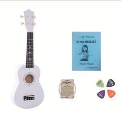 Đàn ukulele trắng
