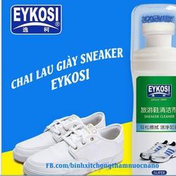 Combo Nước lau giày Sneaker và Nano chống thấm EYKOSI