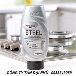 Chất tẩy rửa các bề mặt kim loại chuyên nghiệp Astonish Pro Steel