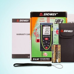 Máy đo khoảng cách, tính diện tích, thể tích Laser SND chính hãng