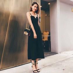 Đầm maxi hở lưng sexy