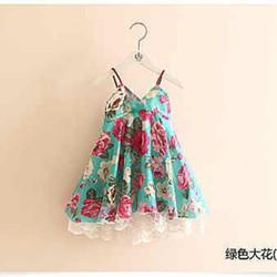 Váy hoa xinh xắn