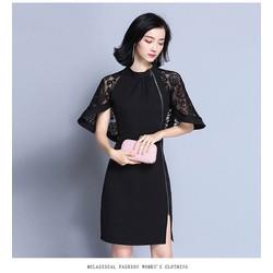 Đầm Suông Cánh Dơi