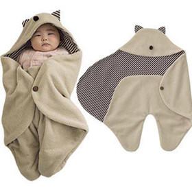 Chăn ủ cho bé hình Tai mèo - chăn ủ cho bé