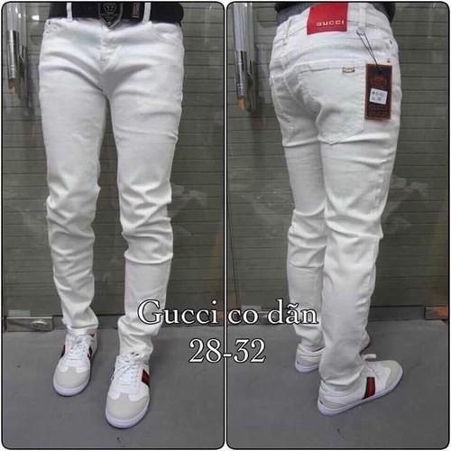 quần jean trắng nam - 4224598 , 5384581 , 15_5384581 , 380000 , quan-jean-trang-nam-15_5384581 , sendo.vn , quần jean trắng nam