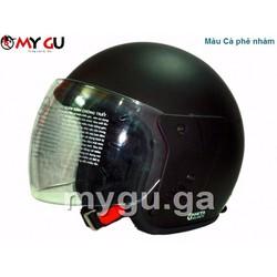 Mũ bảo hiểm cao cấp Safe CT1 - Màu cà phê nhám