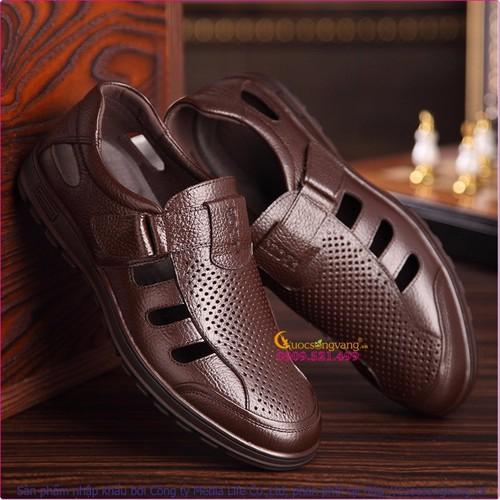 Giày rọ nam mùa hè bán thể thao GLG040 - 4227155 , 5400005 , 15_5400005 , 572000 , Giay-ro-nam-mua-he-ban-the-thao-GLG040-15_5400005 , sendo.vn , Giày rọ nam mùa hè bán thể thao GLG040