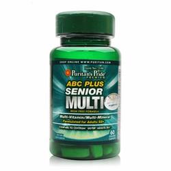 Vitamin, khoáng chất cho người cao tuổi-ABC Plus Senior Multi-Vitamin