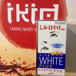 Viên uống trị nám, tàn nhang, trắng da Vita White Plus