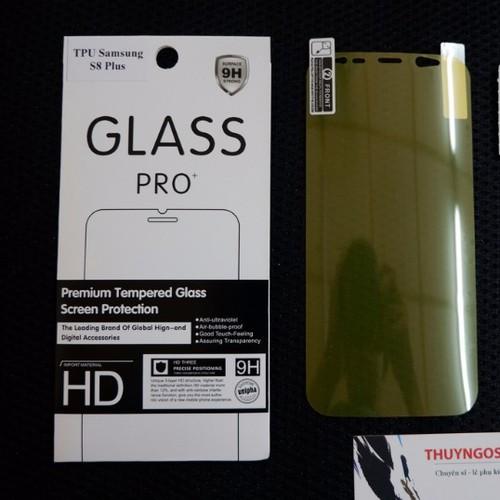 Dán dẻo trong suốt full màn hình Galaxy S8 -  S8 Plus  mặt trước