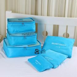 Bộ 6 Túi Du Lịch Vải Dù Xếp Gọn Bag in Bag