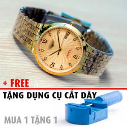 Đồng hồ nam kính sapphire tặng dụng cụ cắt dây - Mã số: DH1719