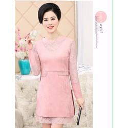 Hàng nhập loại 1 - Đầm Suông da Lôn cao cấp - DSN02950