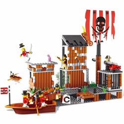 Bộ Đồ Chơi Lego Thiên Đường Cướp Biển No.33042N
