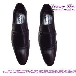 Giày tây nam khóa ngang phong cách công sở lịch lãm GDNHK112