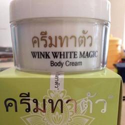 Kem dưỡng thể trắng da thái lan WINK WHITE