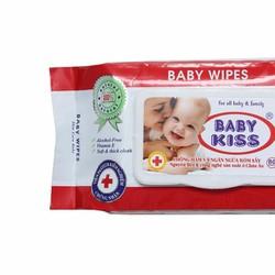 Combo 4 bịch Khăn giấy ướt Baby Kiss