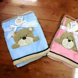Chăn gấu carter siêu mềm cho bé