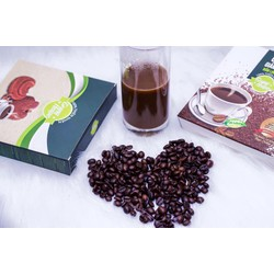 bột giảm cân cafe nấm linh chi 360k