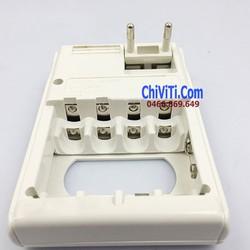 Sạc pin đa năng 3 trong 1 - sạc pin AA, AAA, 9V