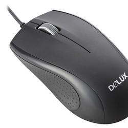 Chuột máy tính Delux M375 Đen