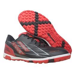 Giày đá banh cỏ nhân tạo Pan Step III đen đỏ - P0S1