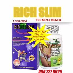 giảm cân an toàn hiểu quả Rich slim