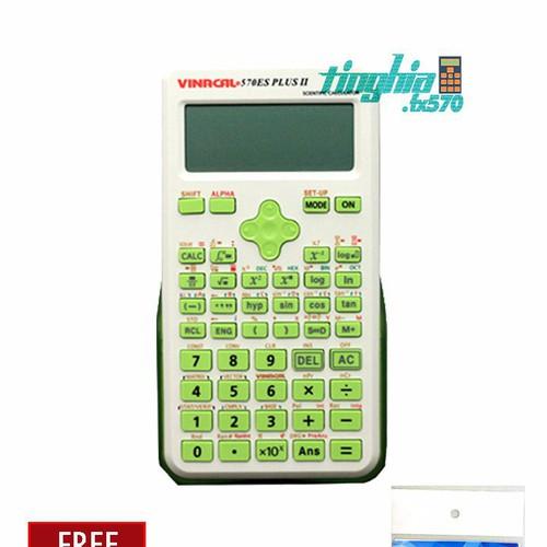 Máy tính Vinacal 570ES Plus II + Tặng 1 decal dán bàn phím máy tính - 4228105 , 5407136 , 15_5407136 , 435000 , May-tinh-Vinacal-570ES-Plus-II-Tang-1-decal-dan-ban-phim-may-tinh-15_5407136 , sendo.vn , Máy tính Vinacal 570ES Plus II + Tặng 1 decal dán bàn phím máy tính
