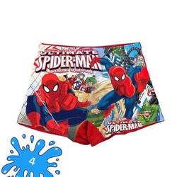 [size 9-15] Quần bơi bé trai in hình siêu nhân nhện