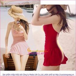 Váy tắm một mảnh che bụng GLSWIM001