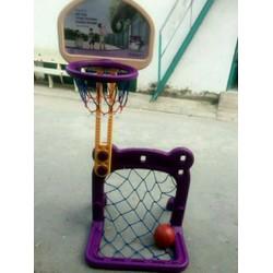 Bộ đồ chơi bóng rổ và khung thành giá rẻ